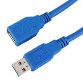 50-Cm-USB 3.0 tippt einen Mann zu einem weiblichen Erweiterungskabel