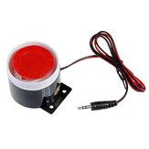 120dB 9V przewodowy głośnik syreny do alarmu GSM systemu alarmowego