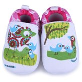 Baby Cartoon Bird Prewalker Shoes Infant Soft Learning Footwear