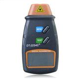 DT2234C+ Цифровой лазерный RPM тахометр фотографии Неконтактный измерительный инструмент об / мин