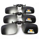 Clip polarizado en las gafas de sol Gafas Lente