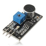 Sound Sensor Detection Module LM393 Chip Electret Microphone
