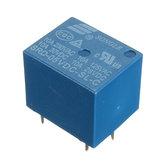 ミニ5V DC電源リレーSRD-5VDC-SL-C 5ピンPCBタイプ