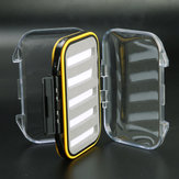 1pc Fly Fishing Box Dubbele Side WaterProof Foam Case Bait Accessory