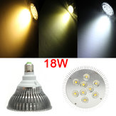 E27 PAR30 9LED 18W 1200-1320LM Non-dimmable Light Bulbs AC 85-265V