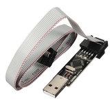 USBASP usbisp 3.3 5v avr programador downloader com Atmega128 ATmega8