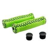 MTB Road Bicycle Synthetic Leather Handlebar Grips