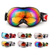 UV حماية تزلج على الجليد تزلج نظارات نظارات نظارات نظارات الرياضة