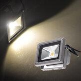 10w lampe blanche de lumière d'inondation de LED chaude jardin noire DC 12V