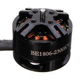 DYS BE1806 2300KV Motor sin Escobillas de Negra Versión para Multicopters
