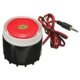 無線ホームアラームセキュリティシステムSZC  -  2574のためのミニ有線サイレン