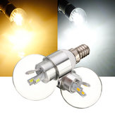 E14 4W White/Warm White Glass LED Globe Bulb Light AC 110-240V