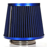 Universal Carbon verkleidet Car Air Filter Netzkegels 76mm