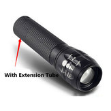 Q5 240Lumens 3Modes Outdooors Bicycle EDC LED Flashlight 18650/AAA