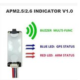 APM2.5/2.6/2.8 MWC Flight Controller Light & Buzzer Indicator V1.0