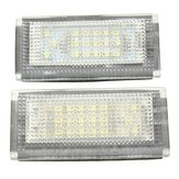 2 szt. 18 LED License Nubmer Plate Lights Lamp do Mini Cooper S R50