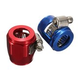 AN6 15mm Car Hose End Finish Fuel Oil Water Pipe Clamp Clip