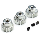Hg P401 / P402 / P601 rc motor do carro gear 26t 28t 30t