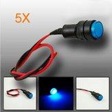 5XUniversaler 10-Mm-Indikator LED schleudert Tafelnwarnlichtlampe