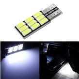 T10 5630 9SMD LED Beyaz Işık Araba Canbus Hata Yedek Değiştirme Ampulü