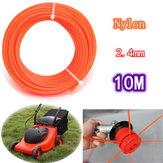 2.Cuerda de la línea del contemporizador de la hierba del nilón flexible de 4 mm x 10 m para gasolina 23-35cc strimmers