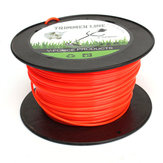 3 mm x 90 m en nylon flexible tondeuse ligne corde pour la plupart machine débrousailleuses à essence