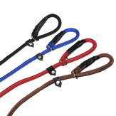 Nylon Rope Pet Köpek Kayma Eğitim P-Leash Walking Leading Collar