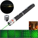 XANES GD11 5-in-1 532nm Potente All Star verde Laser Pointer Pen + Star Cap