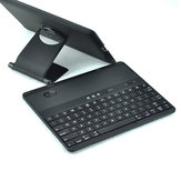 Leasun Bluetooth Keyboard Stand PU Leather Cover Case Voor Tabletten