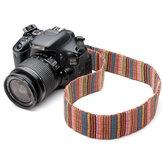 Col de couleur bandoulière pour reflex numérique Nikon, Canon et autre caméra