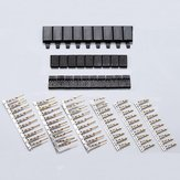 10 Pairs  Futaba Servo Plug Set Gold Plated Male & Female