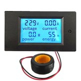 Geekcreit® 100A 22000W Power Monitor Module AC Meter Panel 45-65Hz Test Spænding AC 80-260V
