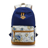 Floral Girl Backpack Women Leisure Backpack Students Backpack Teenager School Bags