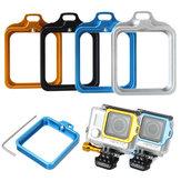 Lanyard in metallo in alluminio lente Supporto ad anello con kit cacciavite per GoPro Hero 3 Plus/4