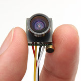 1/4 CMOS 600TVL 1.8mm FOV 170 graders vidvinkel Mini FPV-kamera PAL / NTSC 3.7-5V til Tiny RC Drone FPV Racing