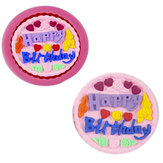 3D Silicone Happy Birthday Fondant Chocolate Mold Mould Cake Decoration