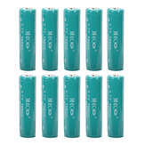 10PCS MECO 3.7v 4000mAh Protected Rechargeable 18650 Li-ion Battery