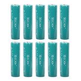 10PCS MECO 3.7V 4000mAh Beschermde oplaadbare 18650 Li-ion batterij