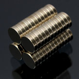50pcs N35 6x1.5mm Strong Rund Zylinder Magnete Rare Earth Neodym Magneten