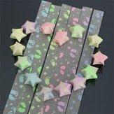 1 упаковка 30 полосок печать ноги складной детей счастливых пожеланий звезды оригами лента комплект