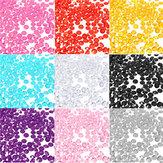 1000pcs 4.5mm Tabelle Kristall Diamant Acryl Kristalle Diamanten Hochzeit Dekoration