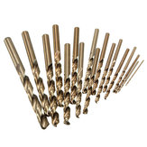 1.0mm to 8.0mm Professional Drill Bits HSS-Co Cobalt Various Sizes Metal Plastic Wood