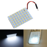 3528 1210 48SMD Car White LED Interior Dome Door Panel Light Bulb