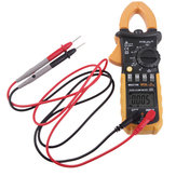 HYELEC PEAKMETER MS2108 Testeur de pince numérique Courant d'appel True Rms Ohm Meter Clamp Meter Backlight