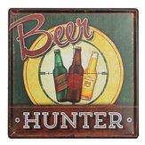 Bière étain signer plaque de métal cru mur de la maison barre de poster pub décor