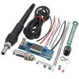 DANIU Digital Soldering Iron Station Temperature Controller Kits for HAKKO T12 Handle