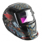 Combattimento falco saldatori maschera scurimento auto solare casco saldatura molatura