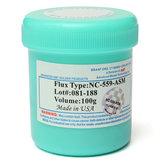 NC-559-ASM TPF Fluxo Anti-molhado Não Limpo 100g Creme AMTECH Pasta de Solda