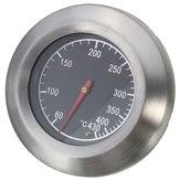 ステンレススチール温度計バーベキューバーベキュースモーカーグリル温度ゲージ60-430