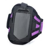 noir et violet brassard de sport mode pour iphone 3g 4